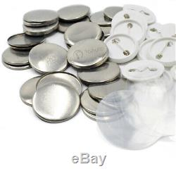 1000PCS Blank Badge Button Parts Supplies for Pin DIY Maker Machine 25/32/37mm