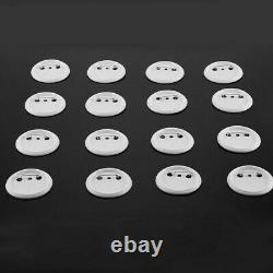 1000Pcs 2.28 58mm /Bottom Cover Pin Button Parts for Badge Maker Machine Set