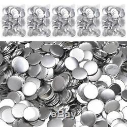 1000/2000pcs Maker Machine DIY Pin Badge Button Cover Parts 1/1.25/2.28