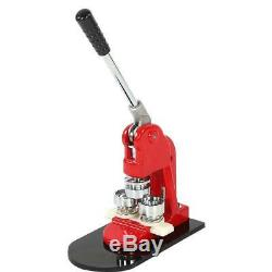 1000 Parts 1.25 Button Maker Badge Punch Press Machine 32mm + Circle Cutter USA