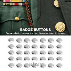 1000pcs 2000pcs Maker Machine DIY Pin Badge Button Cover Parts 1-1/4 1-3/10