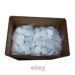 1000pcs 25-75mm Blank ABS Pin Badge Button Supplies for Badge Maker Machine