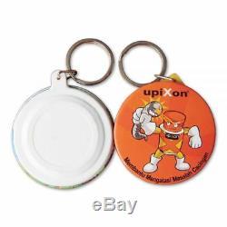 1000pcs Blank 58mm Keychain Badge Button Supplies for Button Maker Machine