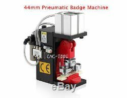 110V Pneumatic Badge Machine Button Maker Round Badge Making with 44mm Mold
