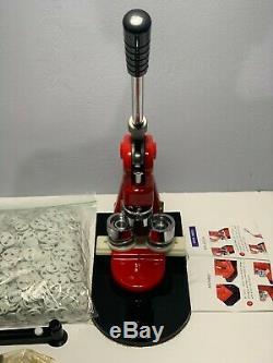 1.0 (25MM) Button Maker Badge Punch Press Machine