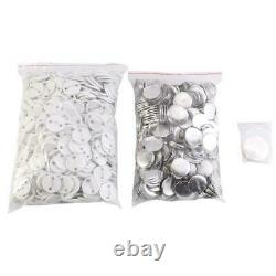 1/1.25/2.28 Button Maker Machine with 1000 Buttons Circle Badge Punch Press P