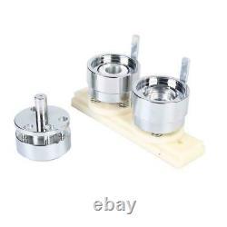 1/1.25 Button Maker Badge Punch Press Machine + 1000 Buttons Circle Cutter