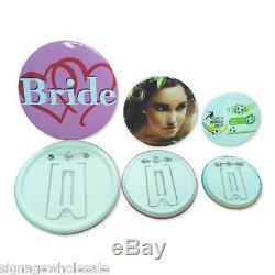 1-1/2 37mm Button Maker Machine+1000 Badges Supplies + 1pc 37mm Circle Cutter