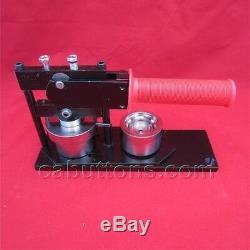 1-1/4 inch 1.25 Tecre Button Badge Maker Machine +Buttons + Cutter Complete Set