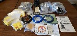 1 25mm Badge Button Maker Machine Press 500 Parts Circle Cutter US