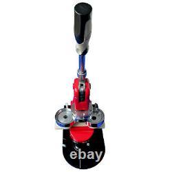 1 (25mm) Button Maker Machine Badge Press+1000 Button+1pc Circle Cutter