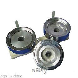 1 25mm Triangle Badge Press Button Maker Machine +1000pcs Button +Circle Cutter