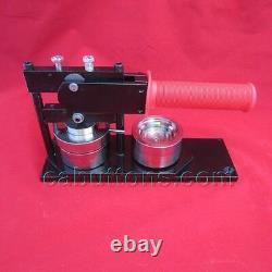 1-3/4 inch New Tecre Badge Button Maker Machine Press + 500 Pin Back Buttons