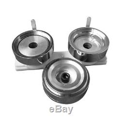 1.45 (37mm) Round Die Mold with Plastic Slide Rail for DIY Badge Button Maker