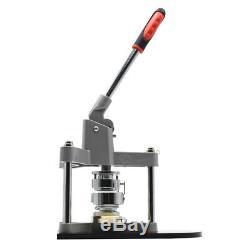1.73 44mm Button Maker Machine Badge Punch Press & Circle Cutter DIY Xmas Gifts