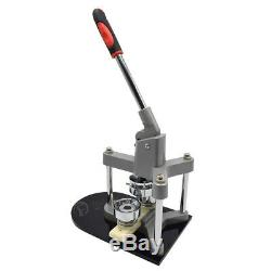 1 Aluminium Button Badge Maker Punch Press Machine & Circle Cutter 25mm Mould