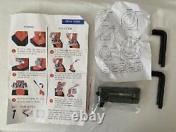 1 Button Badge Pin Maker Shells Button Backs Mylar Paper Cutter Punch Press