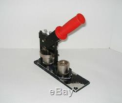 1 Tecre Craft Tool Pin Badge Round Clip Button Press Maker Machine