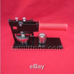 1 inch Tecre Pin Badge Button Maker Machine+Graphic Punch+500 Buttons Parts