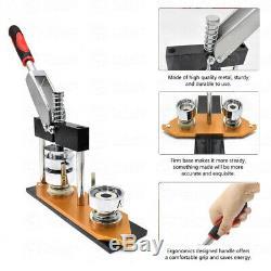 25/32mm Badge Press Making Machine Button Pin Maker DIY Gift Craft Circle Cutter
