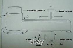 2-1/4Inch 58mm Button Badge Maker Machine Badge Making Kit
