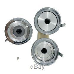 2-1/4 58mm Button Badge Maker Machine + Button Parts 100 Sets + Die Mould US