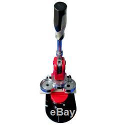 2-1/4 58mm Button Maker Machine Badge Press +1000 Buttons, 1pc Circle Cutter