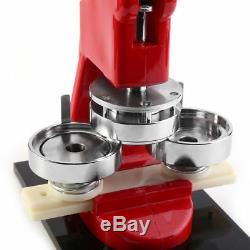2.28 58mm Button Maker Badge Press Machine Circle Cutter + 1000pcs Parts