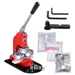 2.28 58mm Button Parts Maker Badge Punch Press Machine 1000 Parts Circle Cutter