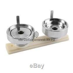 2.28 Button Badge Maker Punch Press Machine 100 PCS Parts & Circle Cutter