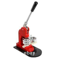 2.3 inch Button Maker Badge Punch Press Machine 1000 Parts + Circle Cutter