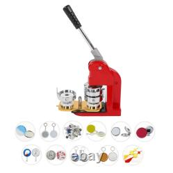 2.3in Button Maker Machine DIY Badge Punch Press Durable Tools 500 Badges Parts
