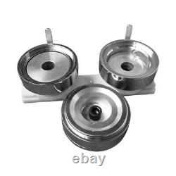 2(50mm) Round Die Mold with Plastic Slide Rail for DIY Badge Button Maker