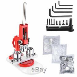 32MM Button Maker Badge Punch Machine For Badge With 1000PCS Parts as Free Gift