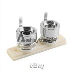 32mm Badge Press Button Maker Machine 1000 Button Supplies Circle Cutter