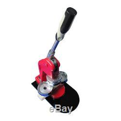 3 (75mm) DIY Round Pin Button Badge Maker Machine + 100 Button Supply Free Gift