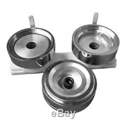 3 (75mm) Round Die Mold with Plastic Slide Rail for Badge Button Maker Machine