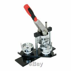 3(75mm) Round Manual Button Maker Badge Making Machine Swing Type Mold Plate