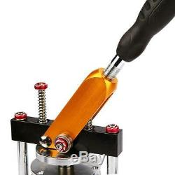 3'' Button Maker Machine 75mm Badge Punch Press Interchangeable Mould 100Pcs