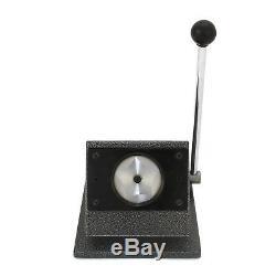 3 x Buttonmaschine Badgemaker Buttonpresse Buttonrohlinge Buttons mit Schneider