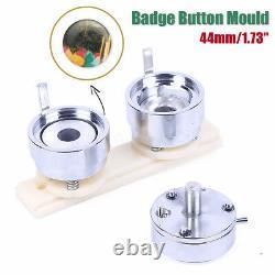 44mm 1.73 Badge Pin Making Mould Button Maker Punch Press Machine Metal W