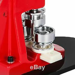 44mm(1.73) Button Badge Maker press 1000 Pcs ergonomics free buttons machine