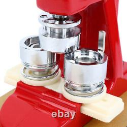 58MM Button Maker Punch Press Machine Die Mould 500 Badge Parts Tool Red