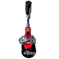 58mm 2-1/4 Button Maker Machine Badge Press+ 1000 Button Supplies+Circle Cutter
