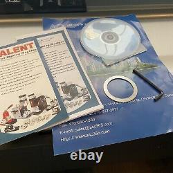 58mm 2.25 Interchangeable Button Maker Machine 300 sets of Badge Materials KIT
