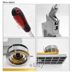 58mm 2.28'' Badge Button Maker Punch Press Machine Circle Cutter 300Set Supplies