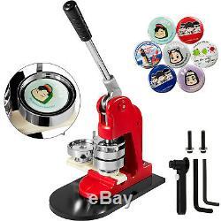 58mm(2.28) Button Badge Maker press 1000 Pcs punch 200-300pcs/h comfortable