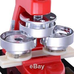 58mm(2.3) Button Badge Maker press 1000 Pcs circle cutter 200-300pcs/h manual