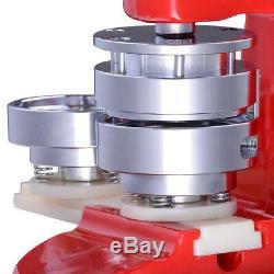 58mm(2.3) Button Badge Maker press 1000 Pcs punch press 200-300pcs/h manual