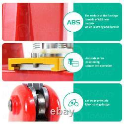 58mm 2.3 Button Maker Badge Press 100 Pcs Circle Cutter Manual Making Machine
